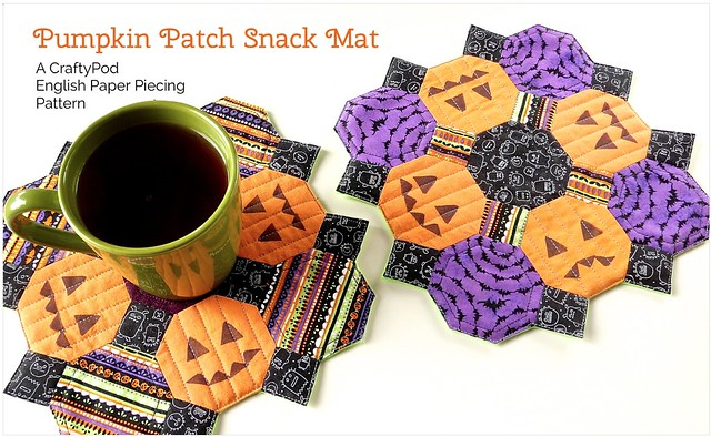 Pumpkin Patch Snack Mat