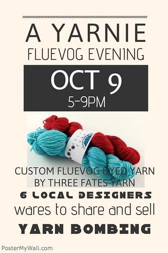 fluevog event poster