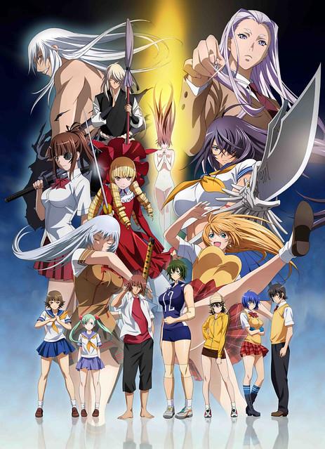 141028 - 嶄新OVA《一騎當千 Extravaganza Epoch》發表2張海報、製作群&新聲優、預定2015/2/25發售!