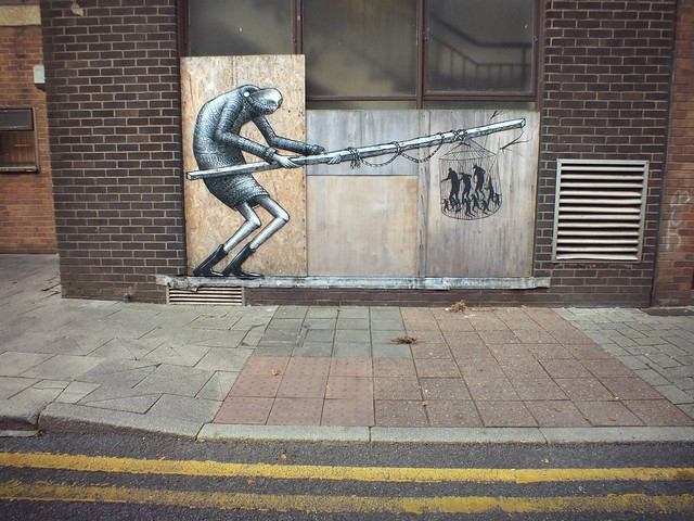 Empty Walls 2014:Phlegm and David De La Mano collab