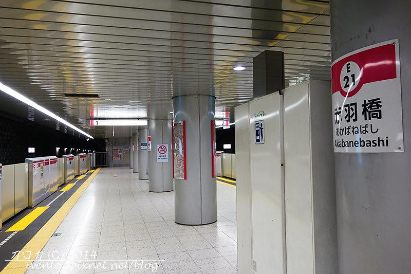 07刀口力日本東京赤羽橋站