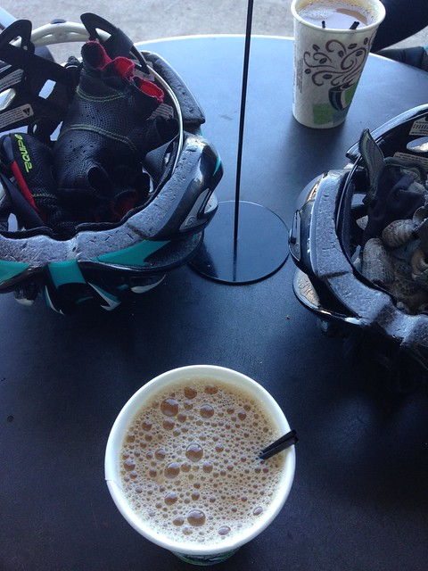 Coffeeneuring 2014, ride 1