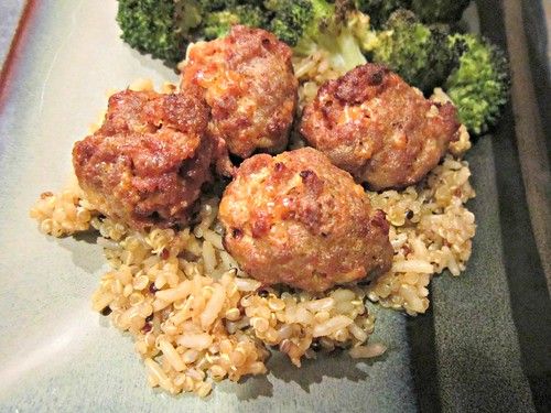 Sausage & Chorizo Meatballs