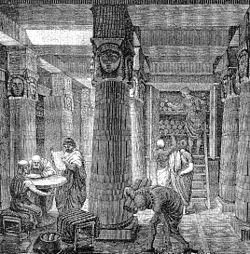 biblioteca de Alejandría, antiguo egipto