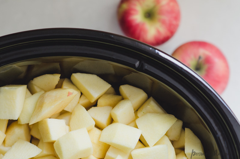 Crock Pot Apple Butter | personallyandrea.com