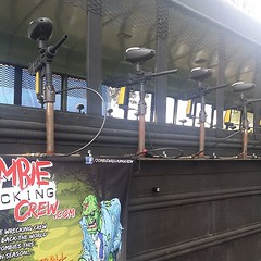 #zombie #zombieride #thomastaylor #paintball my kids business! Come take a ride
