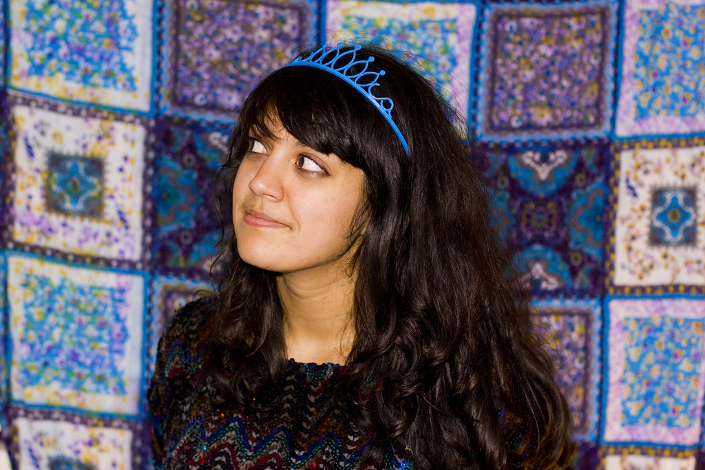 3D printing blue crown tiara james hance jim laila tapeparade blog things he made me