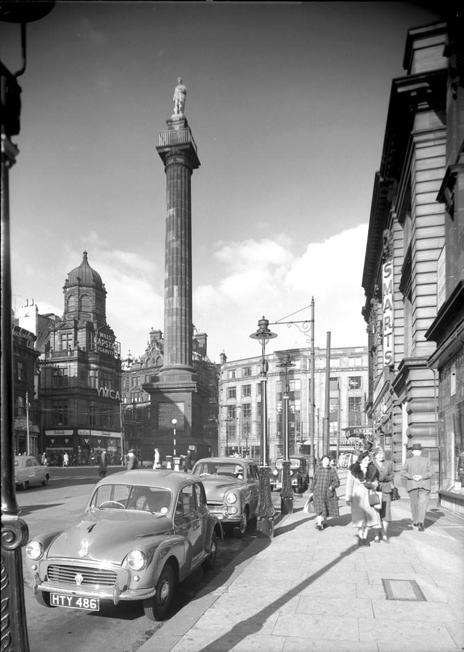 Grey's Monument, 1955