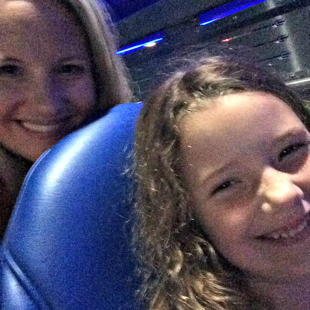 Space Mountain with my 5 year old