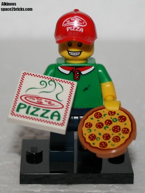 Minfig série 12 livreur pizzas