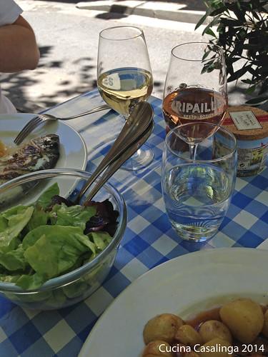 Montpellier Ripailles Tisch