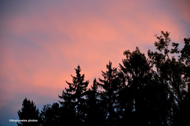Red Sky over Feldbrunnen