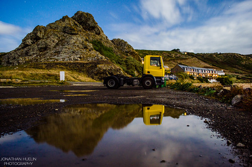 reflections countryside nikon rocks cliffs lorry jersey channelislands stouen d5100