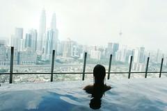 Admiring Malaysia.