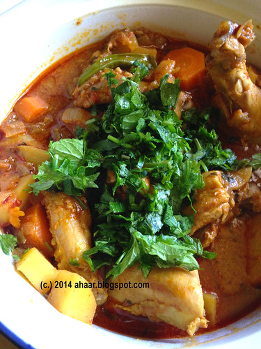 Moroccan Harissa chicken stew