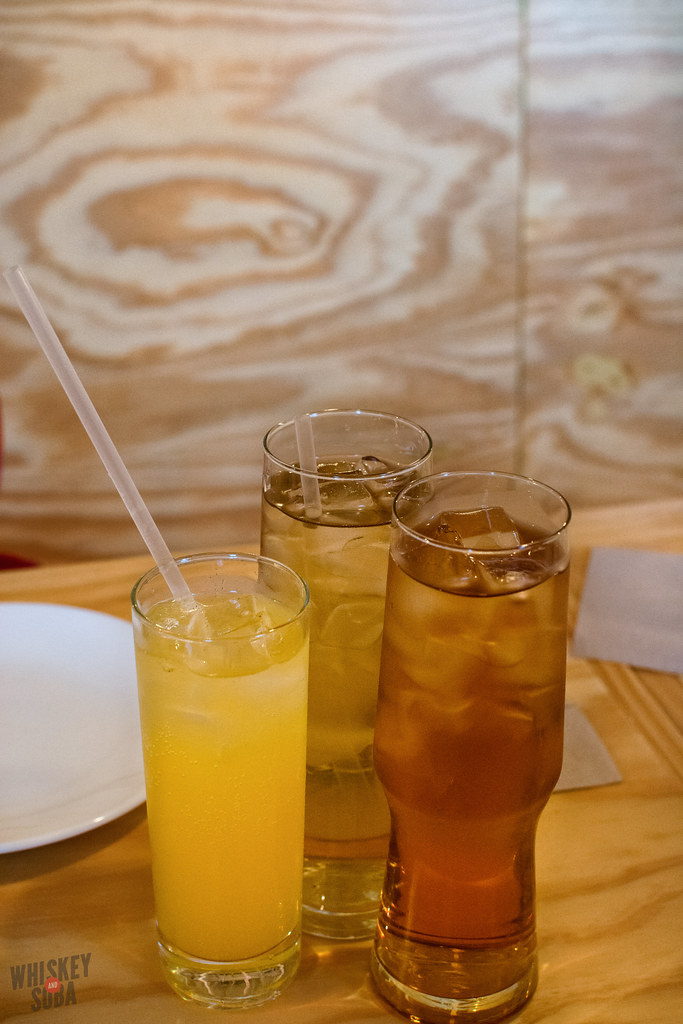 Housemade teas and sodas