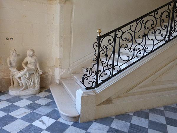 escalier villandry