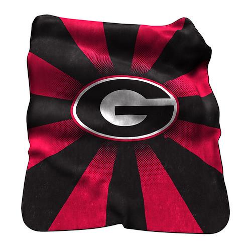 Georgia Bulldogs NCAA Raschel Blanket