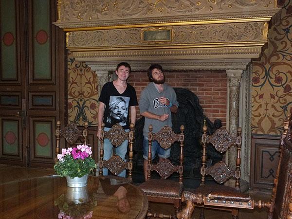 les deux garçons hôtel groslot