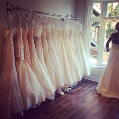 Featured Designer Weekend begins tomorrow with @leaannbelterbridal designs gracing the racks of our boutique. To schedule your appointment please call the Ladies 704-547-4208 💕 #designerweekend #leaannbelter #lineagebride #cltbride #ncbride #en