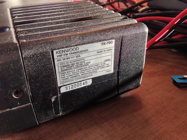 Kenwood TK790 does not transmit | RadioReference com Forums