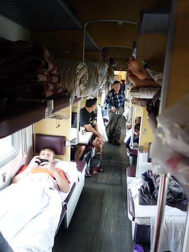 L'intérieur du train