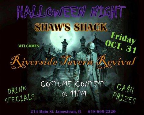 Riverside Tavern Revival 10-31-14