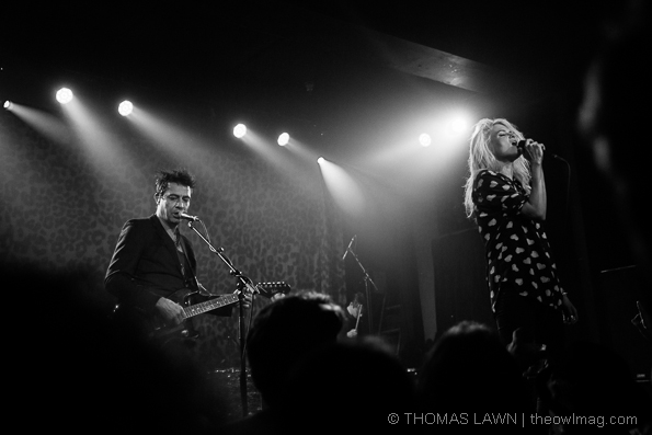 The Kills @ Wonder Ballroom, Portland 10/28/14