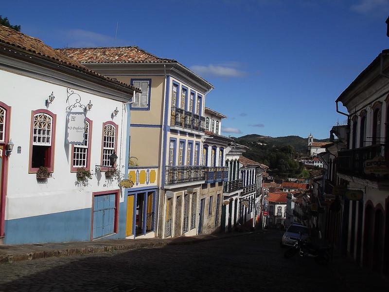 Ruas de Ouro Preto - MG - Brasil