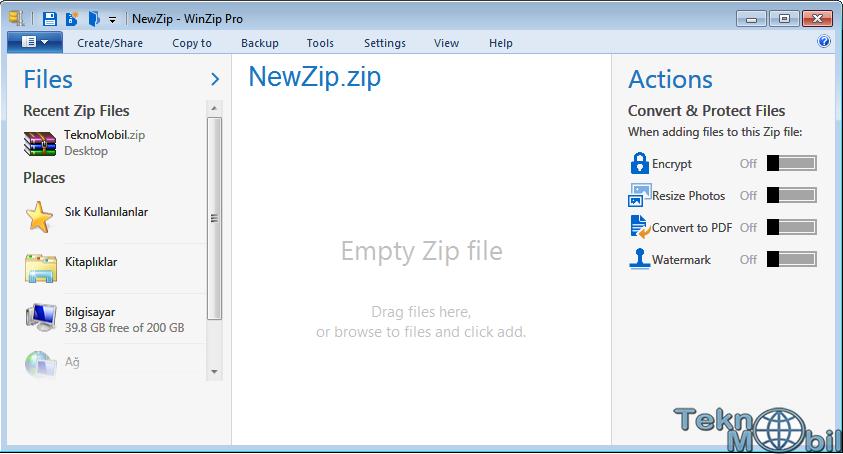 WinZip Pro v21.5.12480 Full İndir