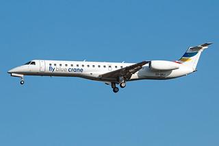 ZS-BBJ Fly Blue Crane ERJ-145