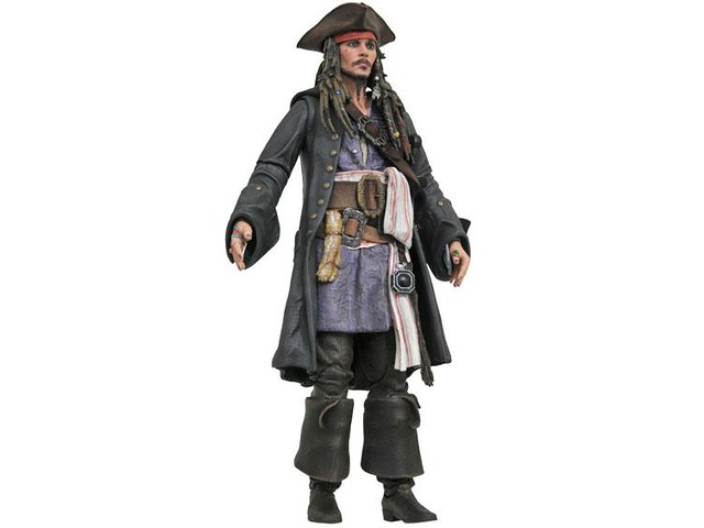 Diamond Select Toys「神鬼奇航:死無對證」Pirates of the Caribbean: Dead Men Tell No Tales「傑克·史派羅」Jack Sparrow可動人偶