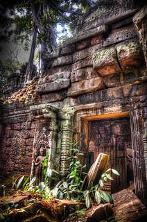 Image of Angkor Wat near Siem Reap. ankorarchaeologicalpark ankorwat cambodia decay hdr holidays mangojouneys photomatix topazlabs