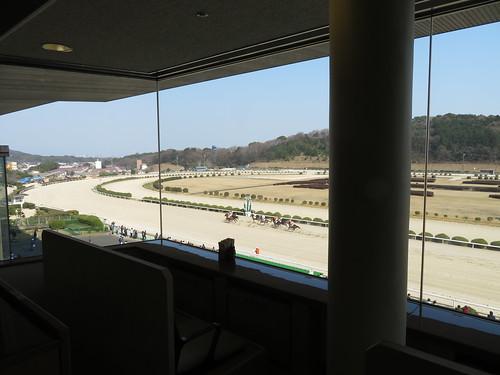 佐賀競馬場のロイヤル席