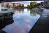 Tottenham Hale sunset #riverlea