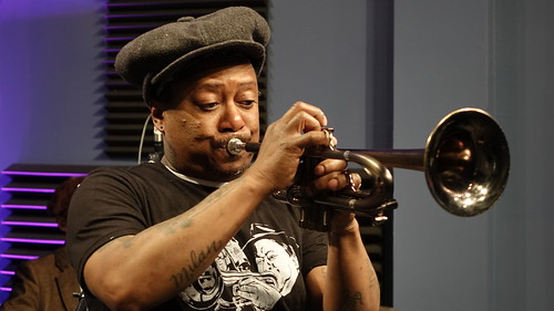Kermit Ruffins.  Photo by Charlie Steiner.
