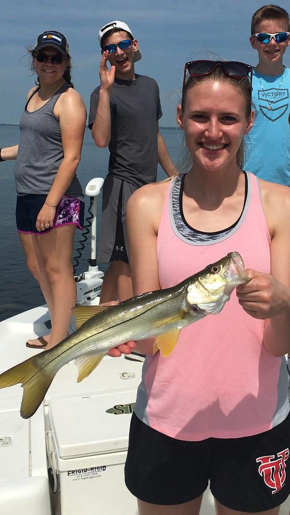 Tampa Snook Fishing