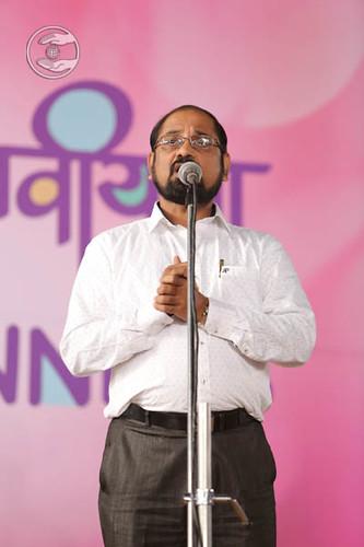 Devotee expresses his views