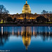 US Capitol Reflecting Pool at Dawn