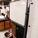 White board with castors E80