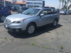 New car 2016 Subaru Outback