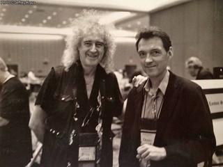 Brian May @ 3Dcon - 2013