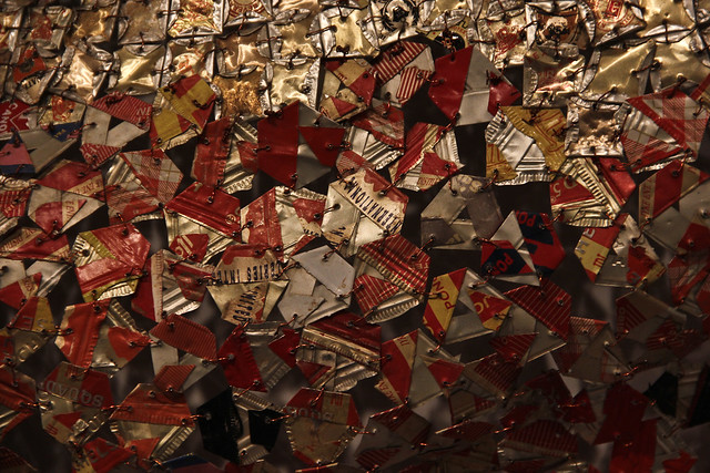 "El Anatsui, ""Many Moons"""