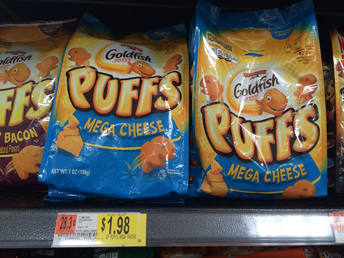 photo about Goldfish Printable Coupons called Reset* 0.50/1 Goldfish Puffs Printable Coupon ($1.48 at