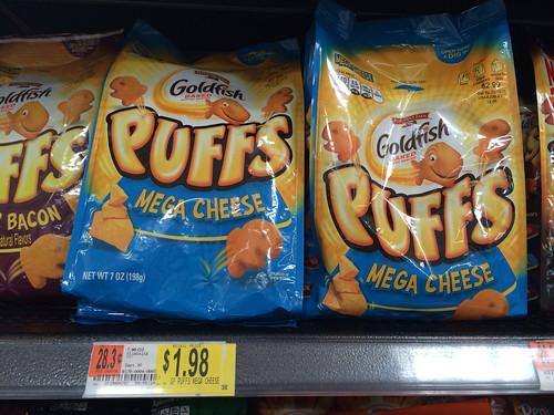 photograph regarding Goldfish Printable Coupons known as Reset* 0.50/1 Goldfish Puffs Printable Coupon ($1.48 at
