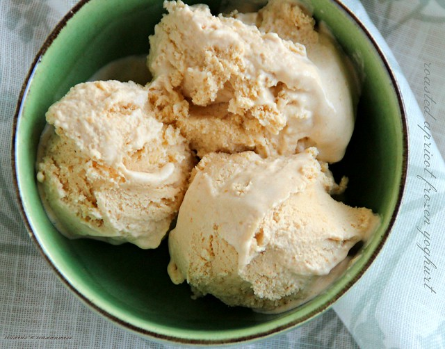 Roasted Apricot Frozen Yoghurt 2