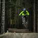 Tiny whip on Crank It Up, Whistler Bike Park