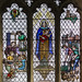 Small photo of Stained glass window, St Margaret's church, Bethersden