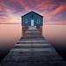 Mounts bay rd Boatshed , Perth, Western Australia by Marc Russo (Australia)