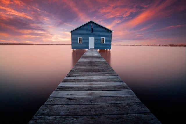Mounts bay rd Boatshed , Perth, Western Australia